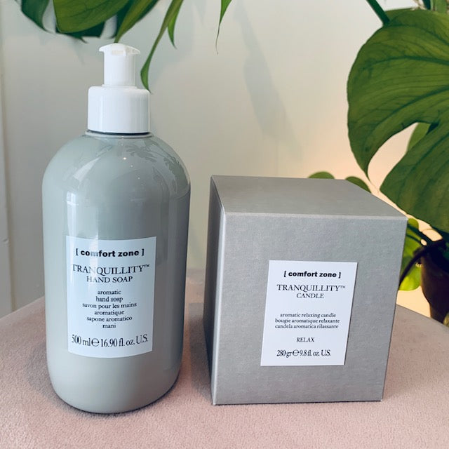 Tranquillity hand soap & candle