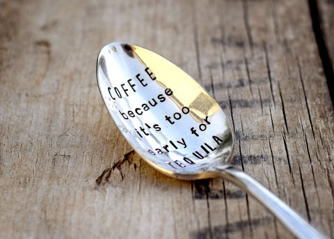 Coffee/Alcohol Spoons