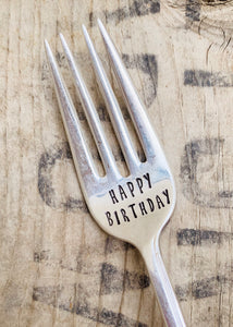 Happy Birthday Fork
