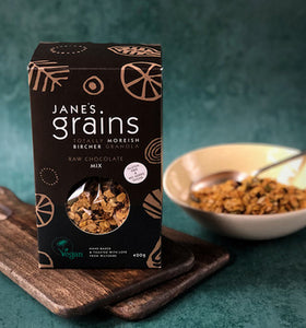 Chocolate Granola - Jane's Grains Wiltshire