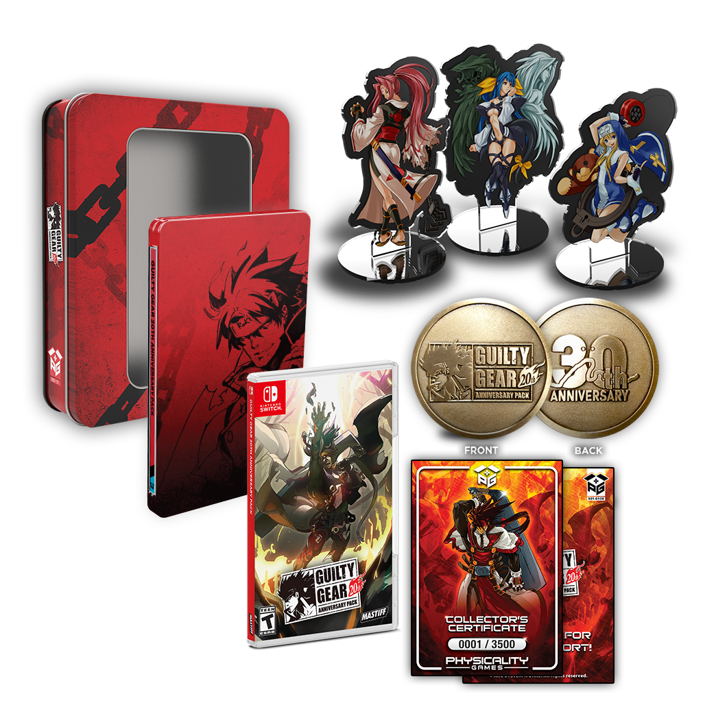 Guilty Gear 20th Anniv. Pack