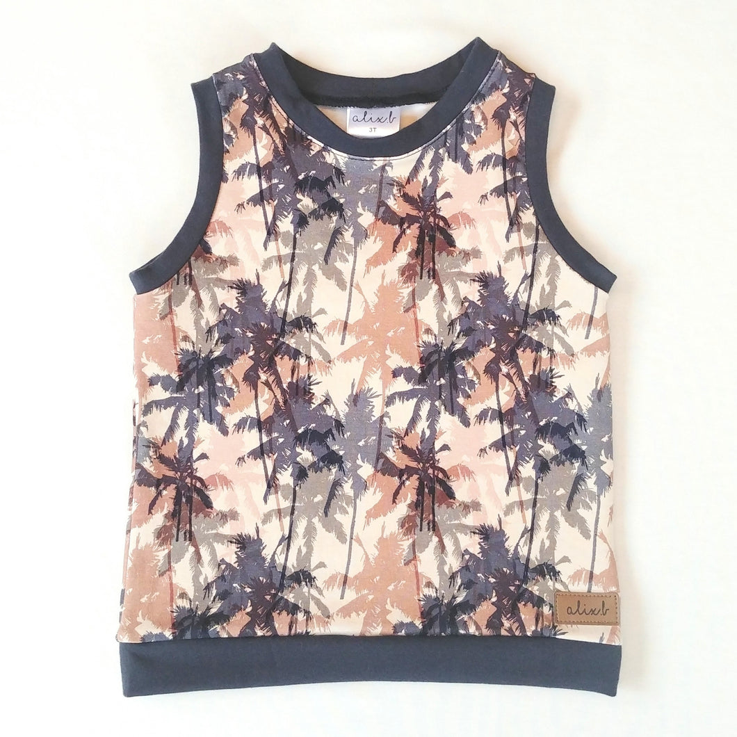 Camisole 3T palmiers