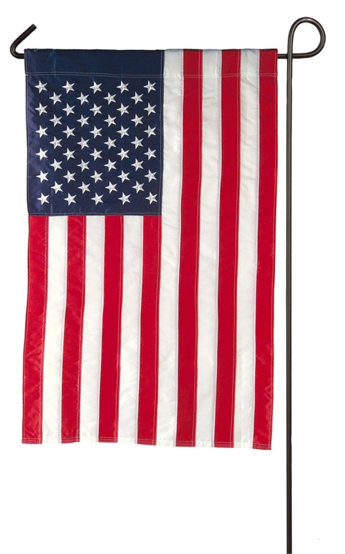 Garden Flag American Applique