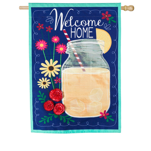 House Flag Welcome Home Linen