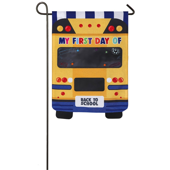 Garden Flag School Bus Linen