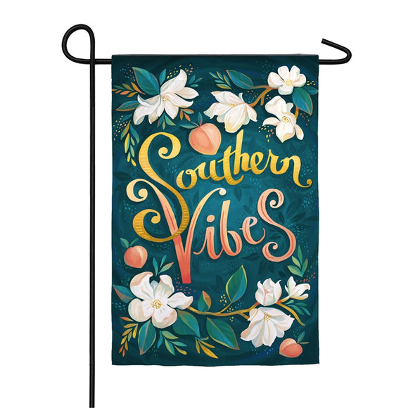 Southern Vibes Garden Flag Suede