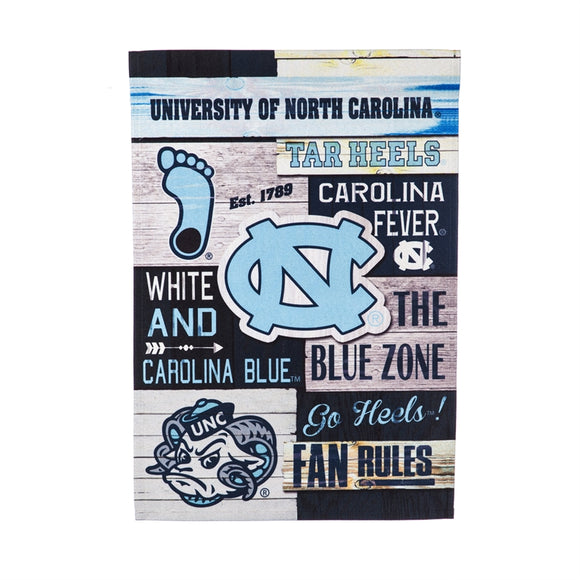 Garden Flag UNC Fan Rules Linen