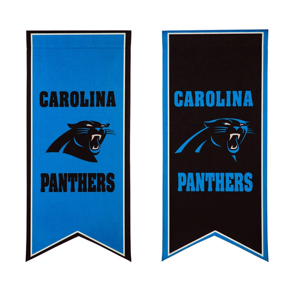 Garden Flag Banner Carolina Panthers