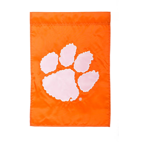 Garden Flag Clemson Applique