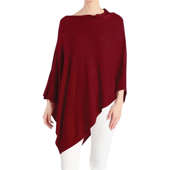 Lightweight Poncho - Multiple Colors Available