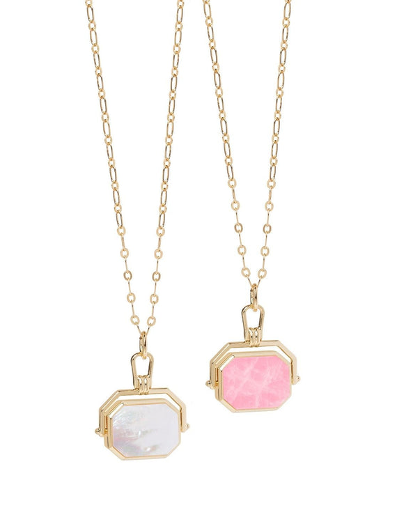 Blushing Revolve Necklace 19