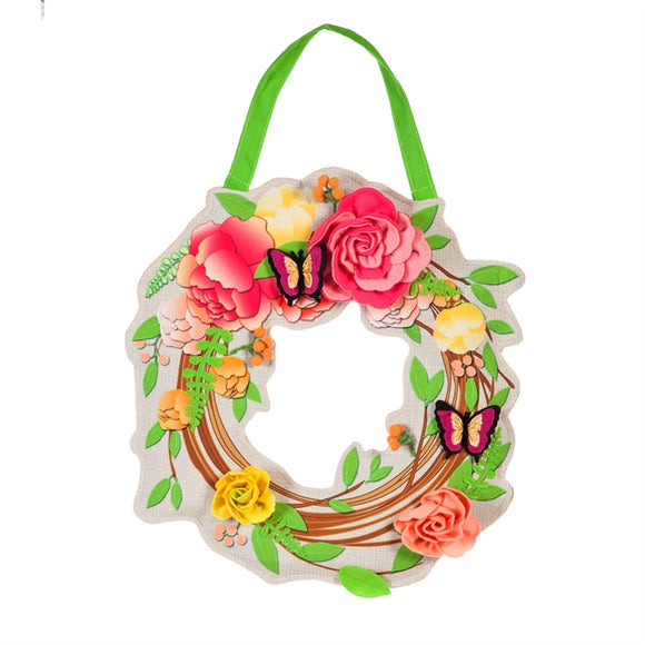 Door Decor Floral Wreath