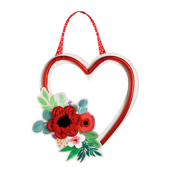Door Decor Valentine's Day Floral