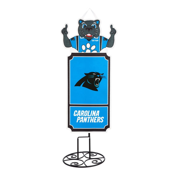 Statement Stake Carolina Panthers