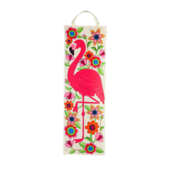 Statement Stake Flamingo Floral