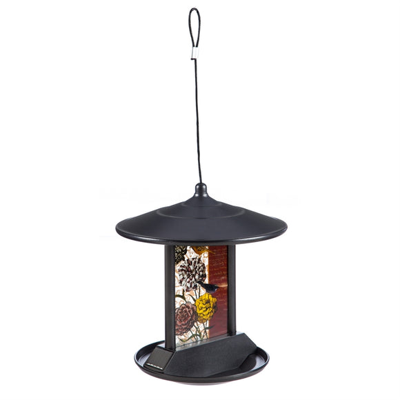 Nature's Collage Solar Bird Feeder
