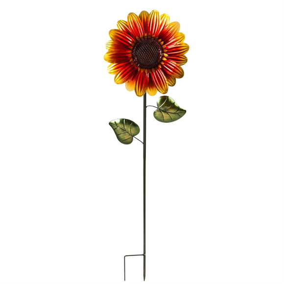 Solar Stake Sunflower 38