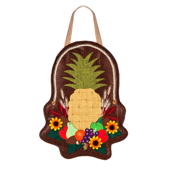 Door Decor Harvest Pineapple