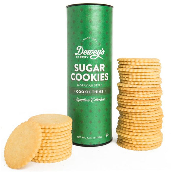 Classic Sugar Moravian Cookies 4.75oz Tube
