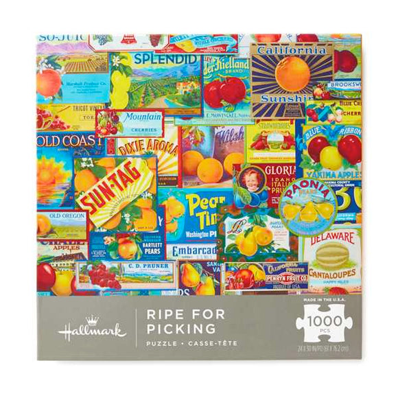 Hallmark Ripe for Picking 1000-Piece Puzzle
