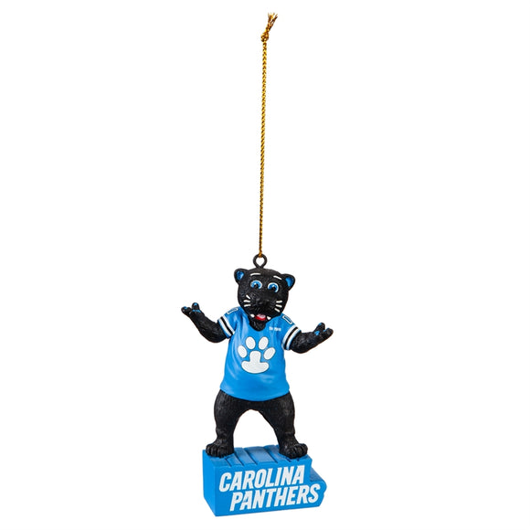 Carolina Panthers Mascot Statue Ornament