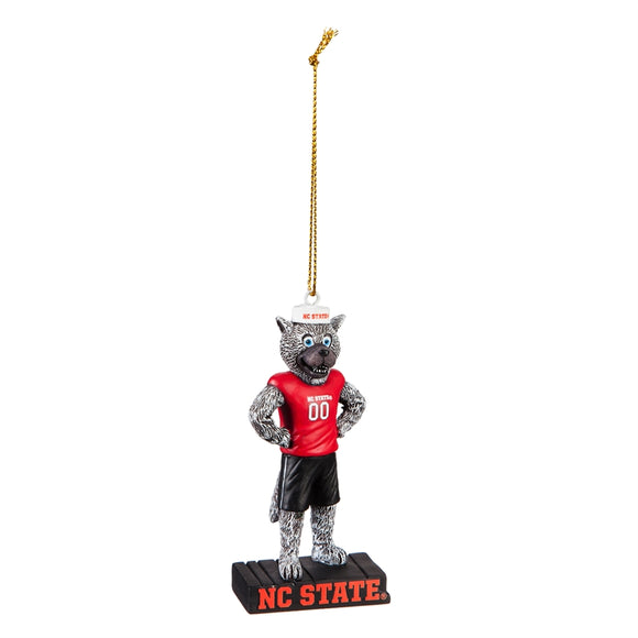 North Carolina State University Mascot Statue Ornament