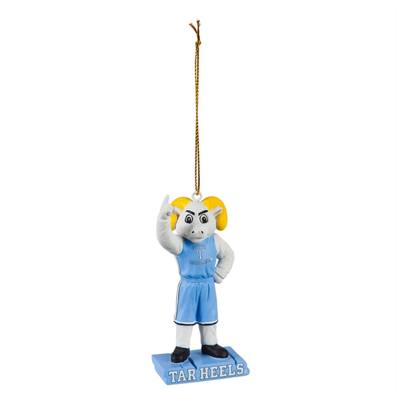 University of North Carolina Mascot Statue Ornament