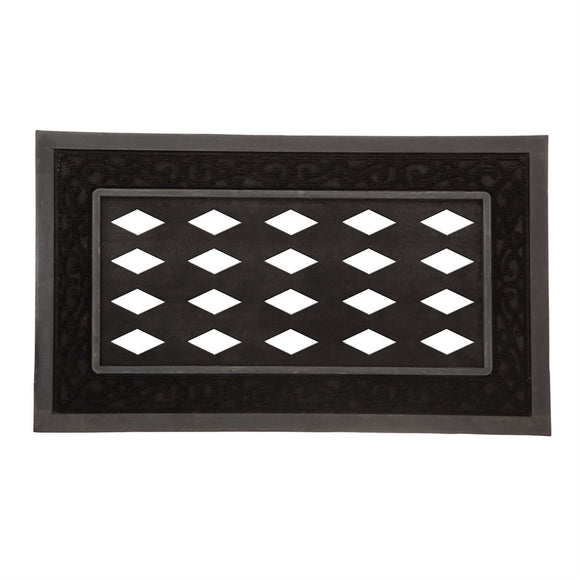 Sassafras Scroll Black Mat Tray