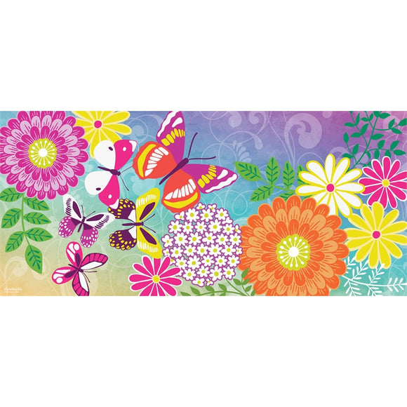 Sassafras Insert Mat Colorful Flowers