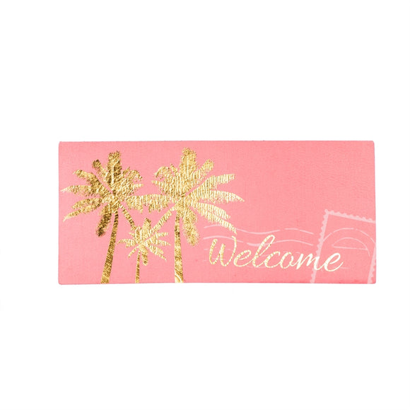 Sassafras Insert Mat Gold Palm Tree