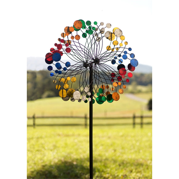 Wind Spinner Multicolor Bubbles