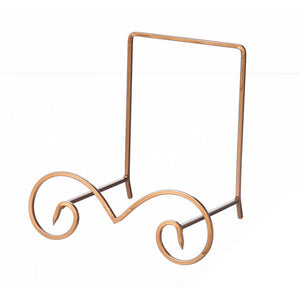 Birdbath Easel Copper Finish