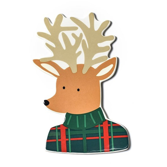 Retired Plaid Reindeer Mini Attachment
