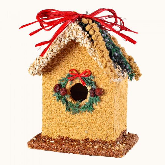 Birdie's B&B Bluebird Christmas Birdhouse