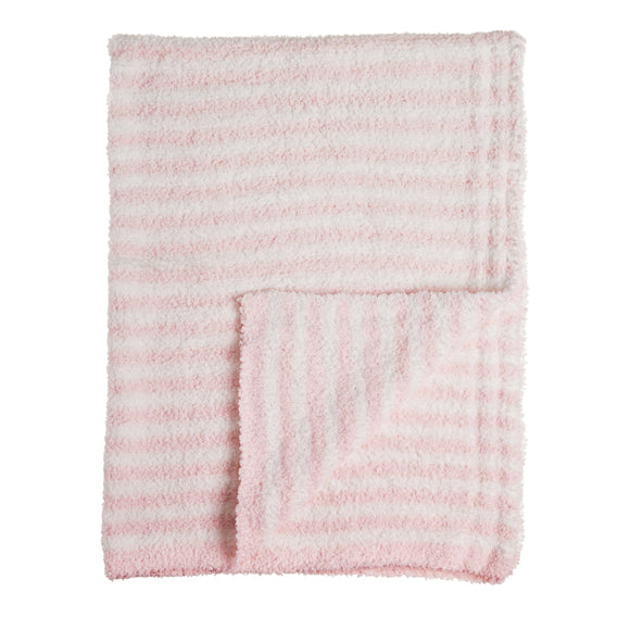 Pink Luxe Chenille Cozy Baby Blanket