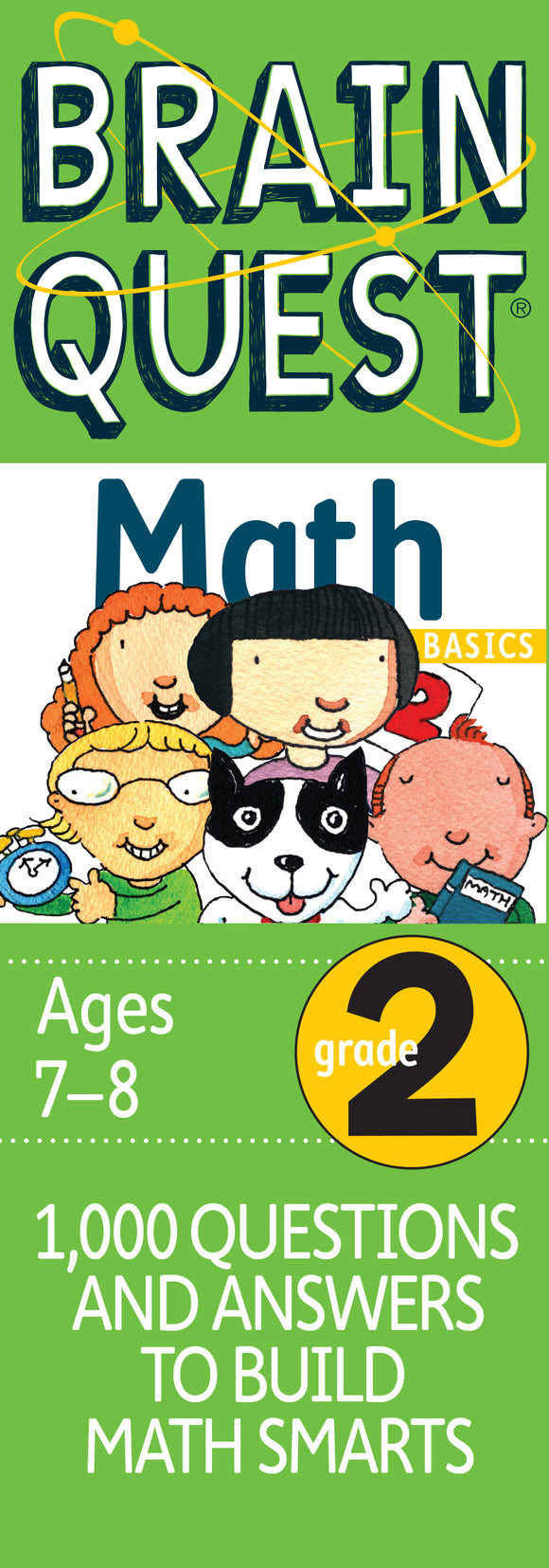 Brain Quest Math 2nd Grade
