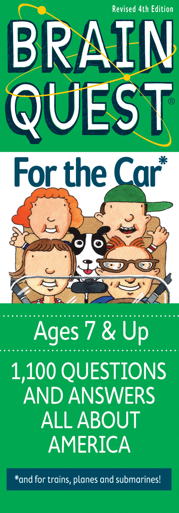 Brain Quest Ages 7+ For the Car