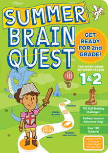 Summer Brain Quest Between 1 and 2