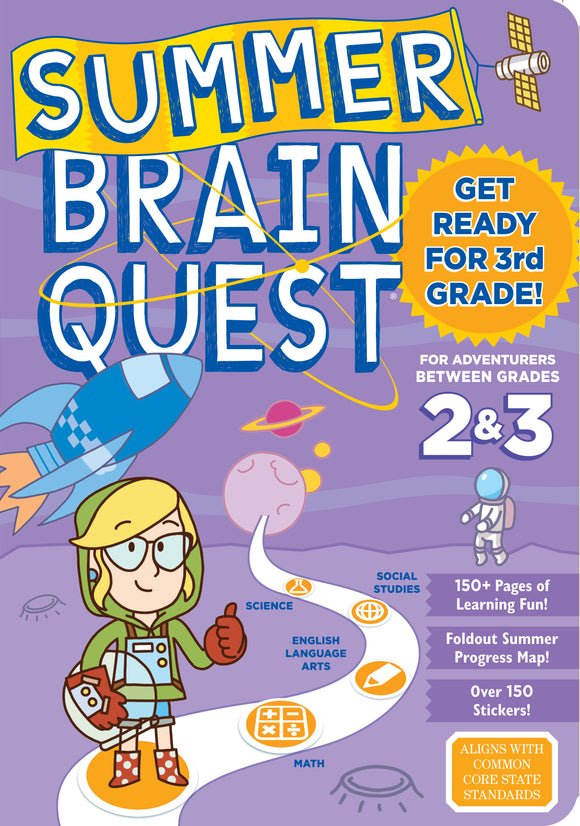 Summer Brain Quest Between 2 and 3