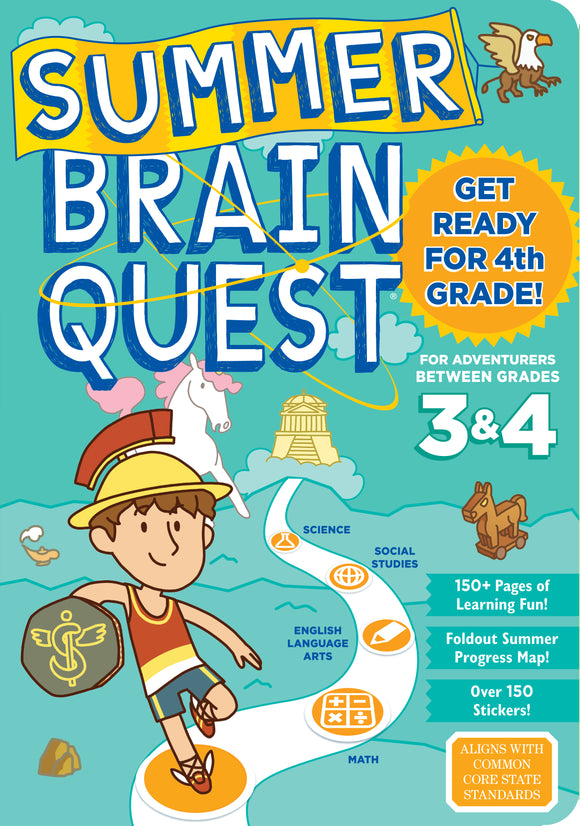 Summer Brain Quest Between 3 and 4