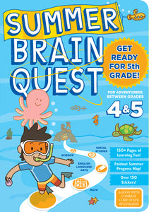 Summer Brain Quest Between 4 and 5