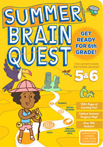 Summer Brain Quest Between 5 and 6