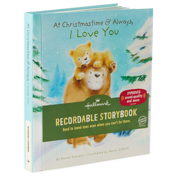 Hallmark At Christmastime and Always, I Love You Recordable Storybook