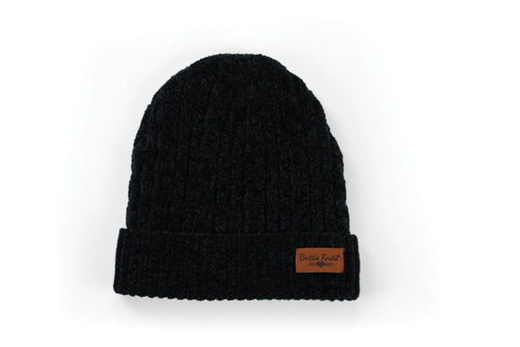 Beyond Soft Chenille Cable Knit Hat - 4 Colors Available