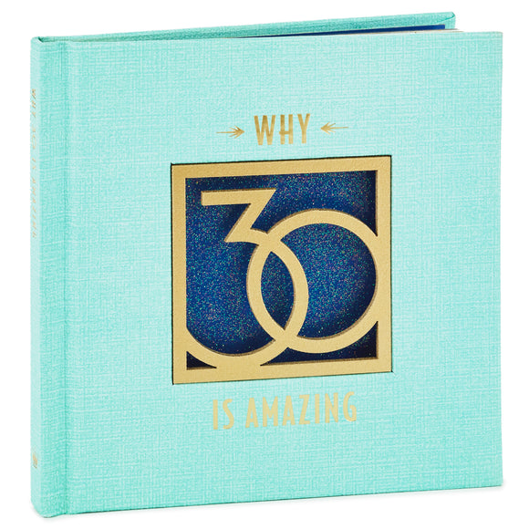 Hallmark Why 30 Is Amazing Book