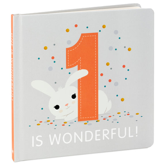 Hallmark One Is Wonderful! Birthday Book