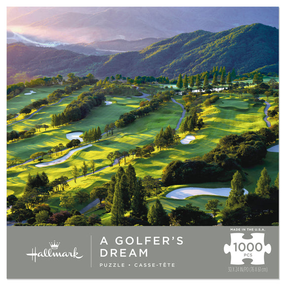 Hallmark A Golfer's Dream 1000-Piece Puzzle