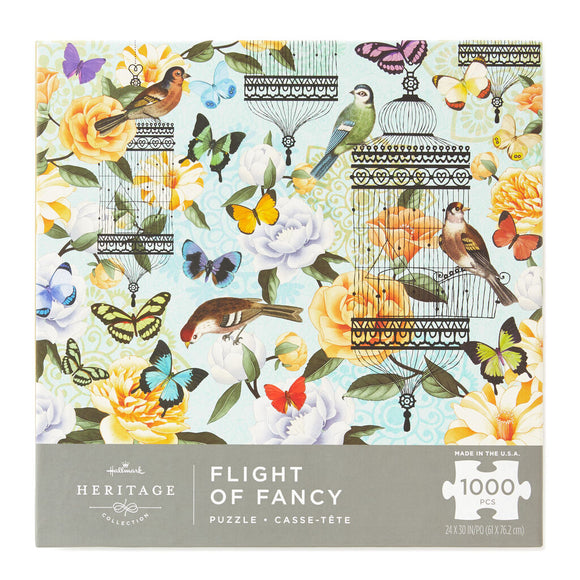 Hallmark Flight of Fancy 1000-Piece Puzzle