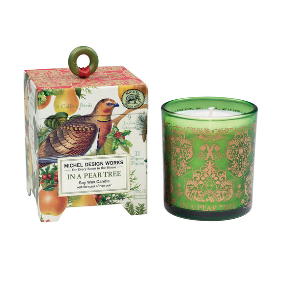 In a Pear Tree 6.5oz Soy Wax Candle