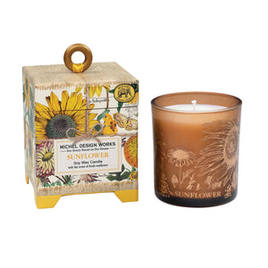 Sunflower 6.5oz Soy Wax Candle